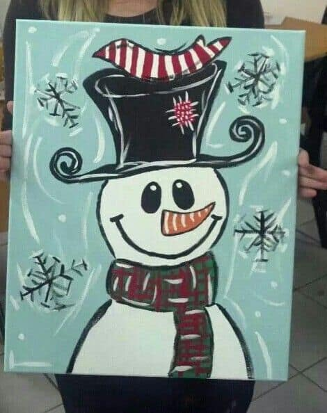 Christmas Canvas Painting 25