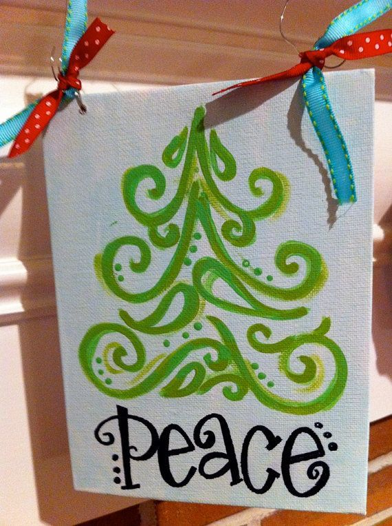 Christmas Canvas Painting 29