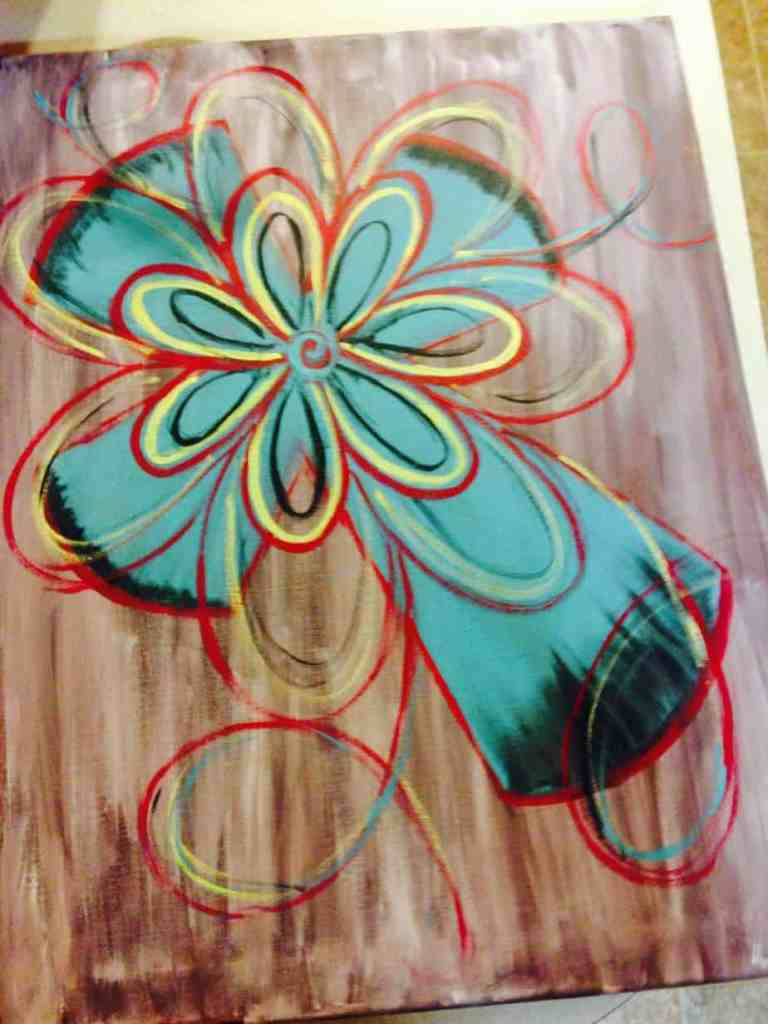 Christmas Canvas Painting 33