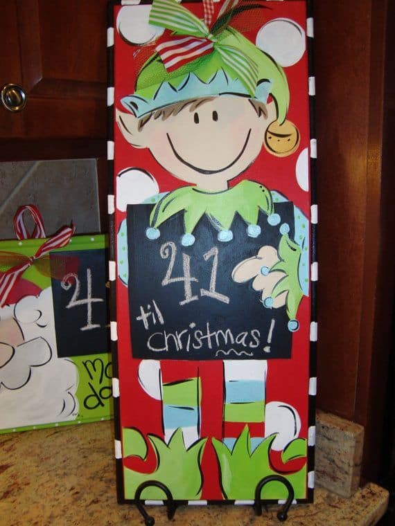 Christmas Canvas Painting 7