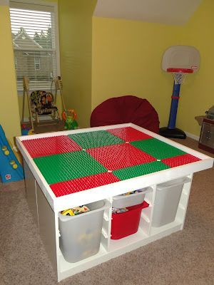 DIY Lego Tables 15