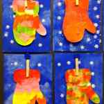 Preschool Crafts WinterChristmas 4