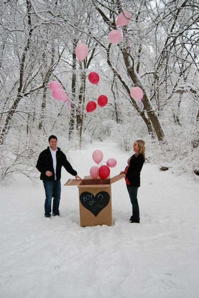 Winter Pregnancy Announcement 21