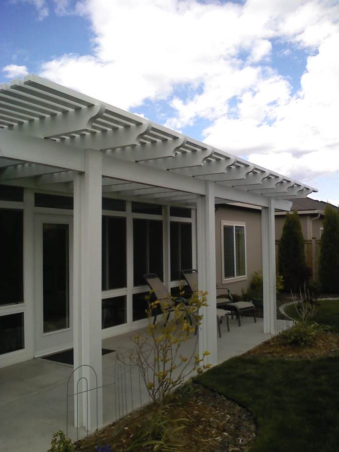Consider aluminum for your covered patioBackyard by Design