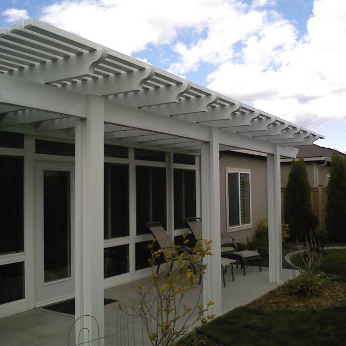 Consider aluminum for your covered patio