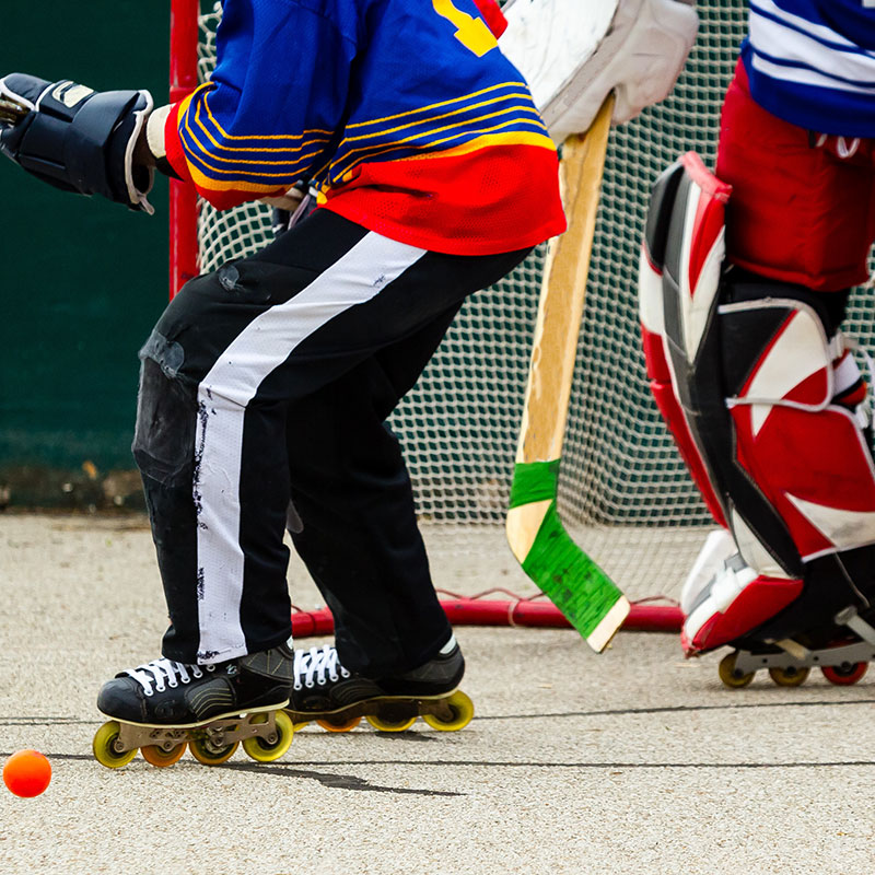 Roller Hockey  Backyard Sports