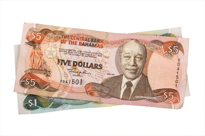 what currency does bahamas use