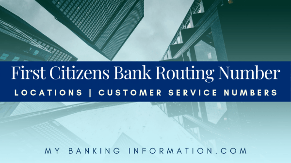 Citizens Bank Routing Number Locations Customer Service Banking Information