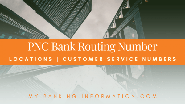 PNC Check Routing Number Location