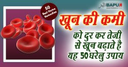 खून की कमी को दुर कर तेजी से खून बढ़ाते है यह 50 घरेलु उपाय | Best Home Remedies for Anemia in hindi