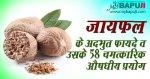 जायफल के अदभुत फायदे व उसके 58 चमत्कारिक औषधीय प्रयोग | Amazing Benefits Of Nutmeg (Jaiphal)