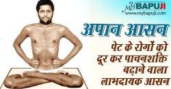 अपान आसन : पेट के रोगों को दूर कर पाचनशक्ति बढ़ाने वाला लाभदायक आसन | Apana Asana