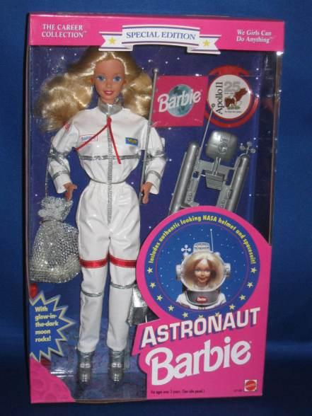 1994 Astronaut Barbie | Crédito da imagem: ltmajorbones2012/eBay