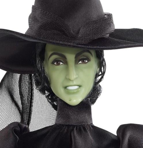 Margaret Hamilton como Wicked Witch of the West | Crédito da imagem: divulgação Barbie Collector/Mattel