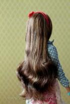 Cabelos penteados   Crédito da imagem: Samira   www.mybarbiedoll.com.br