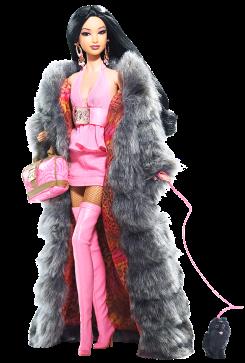 Kimora Lee Simmons Barbie Doll | Crédito da imagem: divulgação www.barbiecollector.com / Mattel