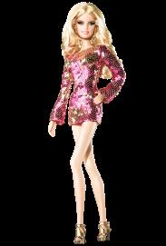 Heidi Klum - The Blonde Ambition| Crédito da imagem: divulgação www.barbiecollector.com / Mattel