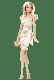 Glimmer of Gold Barbie Doll | Crédito da imagem: divulgação www.barbiecollector.com / Mattel