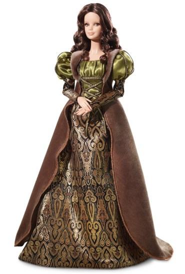 Leonardo da Vinci Barbie Doll | Crédito da imagem: divulgação www.barbiecollector.com / Mattel