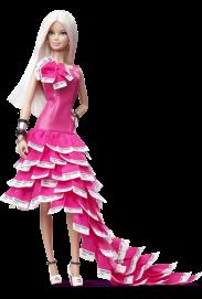 Pink in Pantone Barbie Doll | Crédito da imagem: divulgação www.barbiecollector.com / Mattel