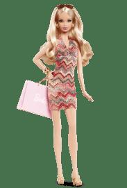 City Shopper Barbie Doll | Crédito da imagem: divulgação www.barbiecollector.com / Mattel
