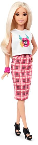 Petite Rock and Roll Plaid   Crédito da imagem: divulgação Mattel   www.barbie.com