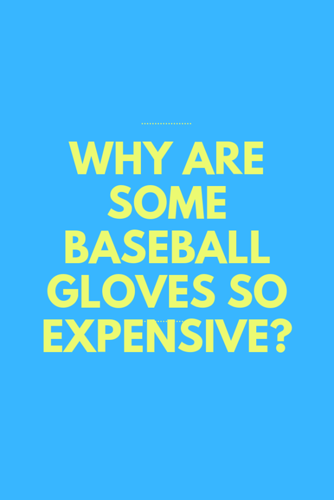 Why Are Some Baseball Gloves So Expensive? - My Baseball Online