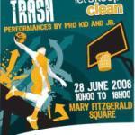 Slam Da Trash flyer