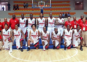Angola basketball team