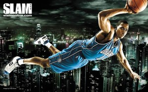 Dwight in Flight, courtesy of SLAMonline