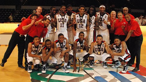 USA U17 FIBA gold medal team 2010