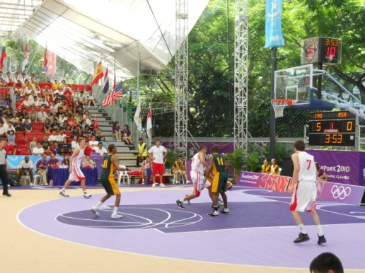 yog singapore 2010 basketball