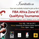 FIBA Zone VI qualifiers schedule 2011