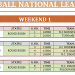 BNL 2014 Week 1 fixtures