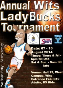 2014 Lady Bucks tournament