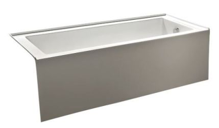 kingston brass acrylic bathtub