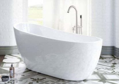 woodbridge acrylic freestanding bathtub