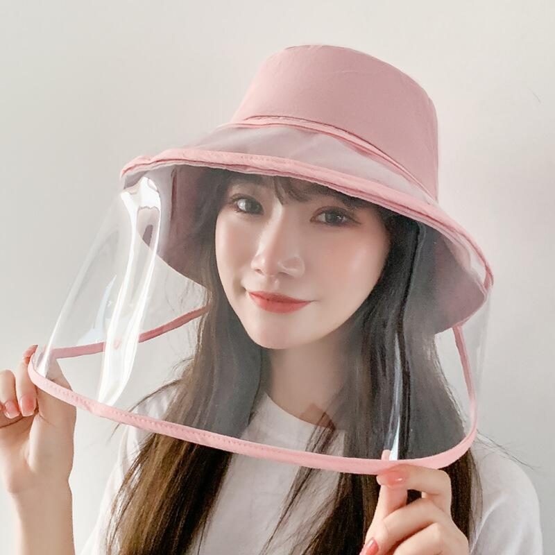 Women Bucket Hat Removable Protective Hat - MY Bazar Ramadhan