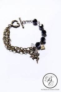 Dark Fairy Charm Bracelet #2 (front 2)