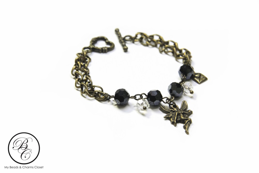 Dark Collection : Dark Fairy Series Charm Bracelet #1 (1/3)