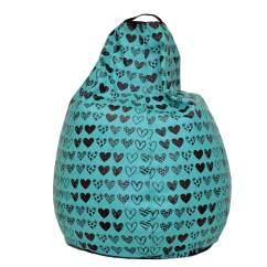 Avengers Bean Bag Chair Corbusier Lounge Get Your Teal Heart Leather Now Mybeanbag Eu