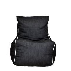 Denim Bean Bag Chair Electric Execution Photos Get Your Black Now Mybeanbag Eu