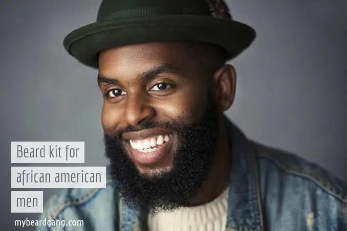Top beard kit for african american