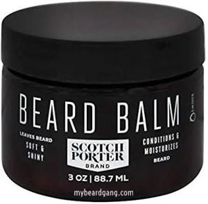 Scotch Porter Beard Balm - Beard softeners for african american men
