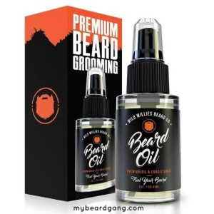 Wild Willies Premium Beard Oil And Leave-in Conditioner
