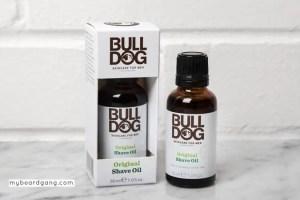 Bull Dog skincare beard oil