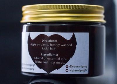 mybeardgang beard cream