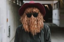 Halloween Costume with beard