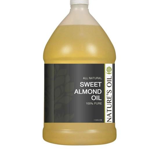 almond oil for beard growth