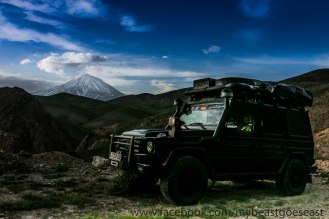 Mount Damavand 5671 m